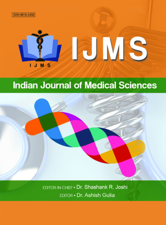 Indian Journal of Medical Sciences - Editorial Board